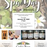 Spa day and Clinic Open House rescheduled!